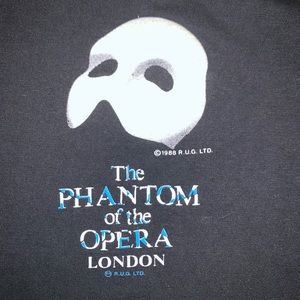 VTG 1988 Phantom Of The Opera London Shirt